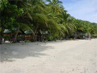 Baan Tai Strand von Norden, Koh Phangan