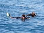 PADI Rescue Diver Kurs Szenarium am Sail Rock