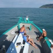 Chaloklum Diving macht einen Tauchausflug nach Koh Tao!