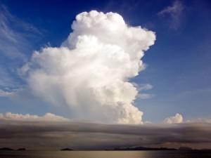 Wolken über dem Angthong Marine Nationalpark