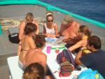 CMAS 3 Sterne Tauchgangsplanung auf Chaloklum Diving Boot Thailand