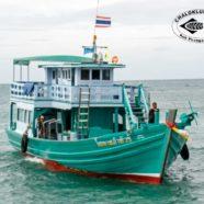 Das Boot ist zurück und weiter Chaloklum Diving News von Koh Phangan