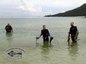 Chaloklum Diving Tauchschule - PADI Open Water Diver Kurs mit Michael!