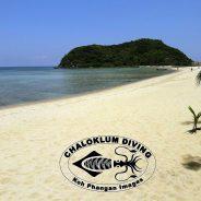 Nebensaison auf einer schwülen heissen Insel Koh Phangan.