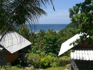 Why Not Bungalows - blick auf Mae Haad Beach